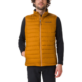 Columbia Powder Lite Chaleco Hombre, burnished amber